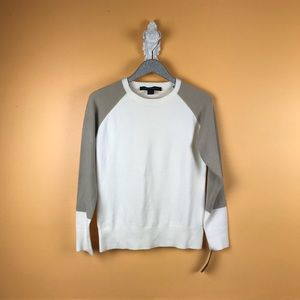 FRENCH CONNECTION Color Block Pullover Sweater